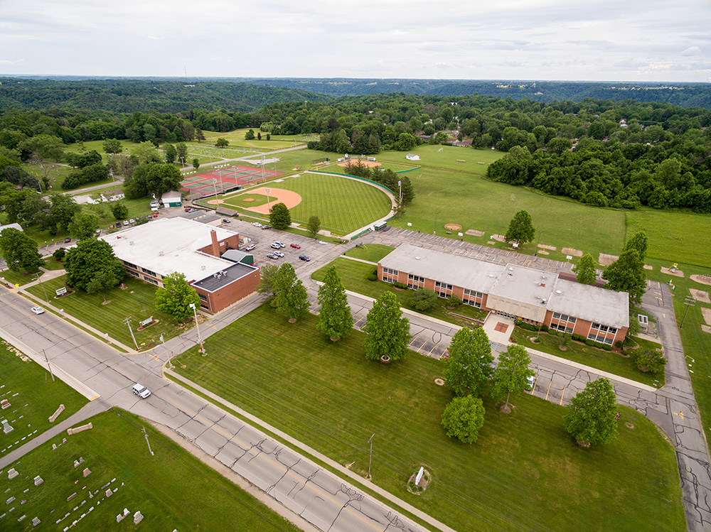 Pope John Elementary and Shawe Memorial High School Campus - Madison, Indiana